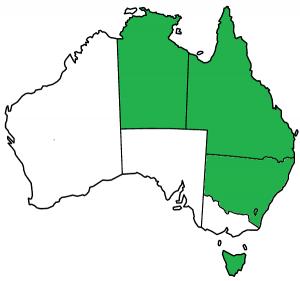 Qld NT NSW ACT Tas