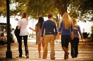 Group of teenagers