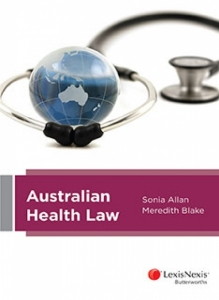 Australian Health Law (Cover)